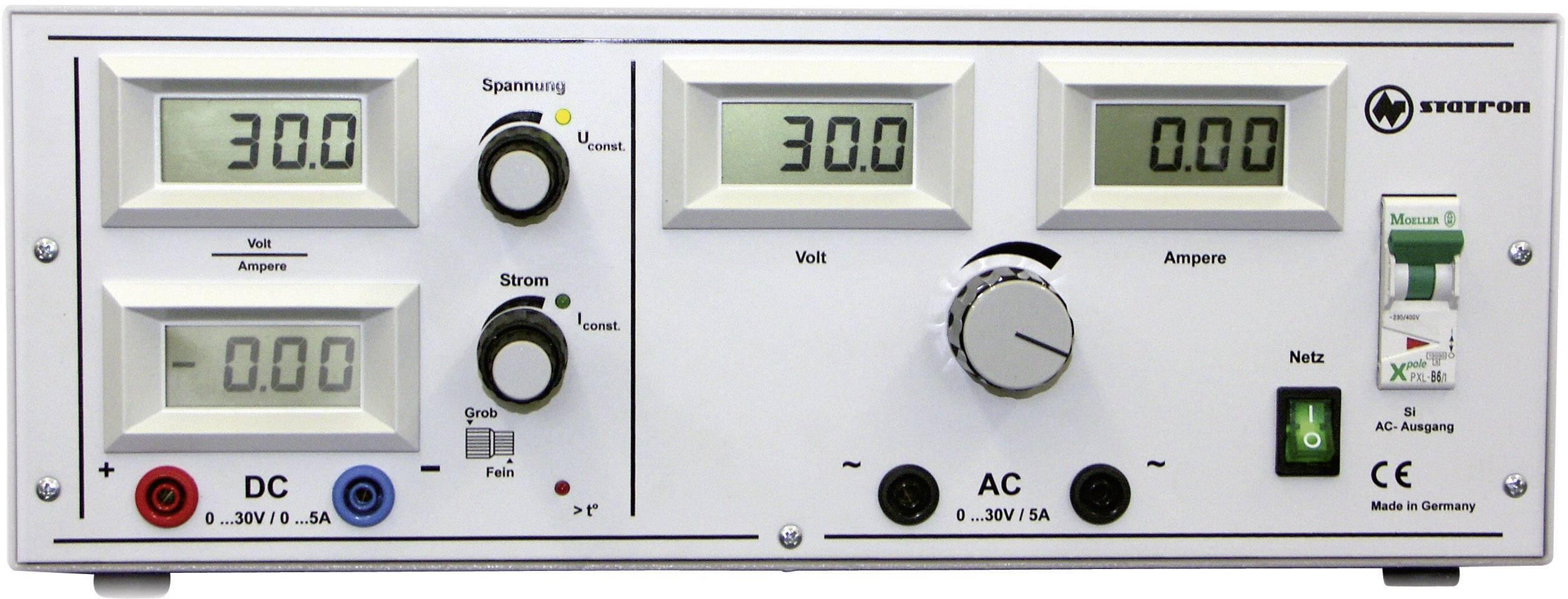 Univerzální laboratorní zdroj Statron 5340.92, 0 - 30 V, 0- 5 A