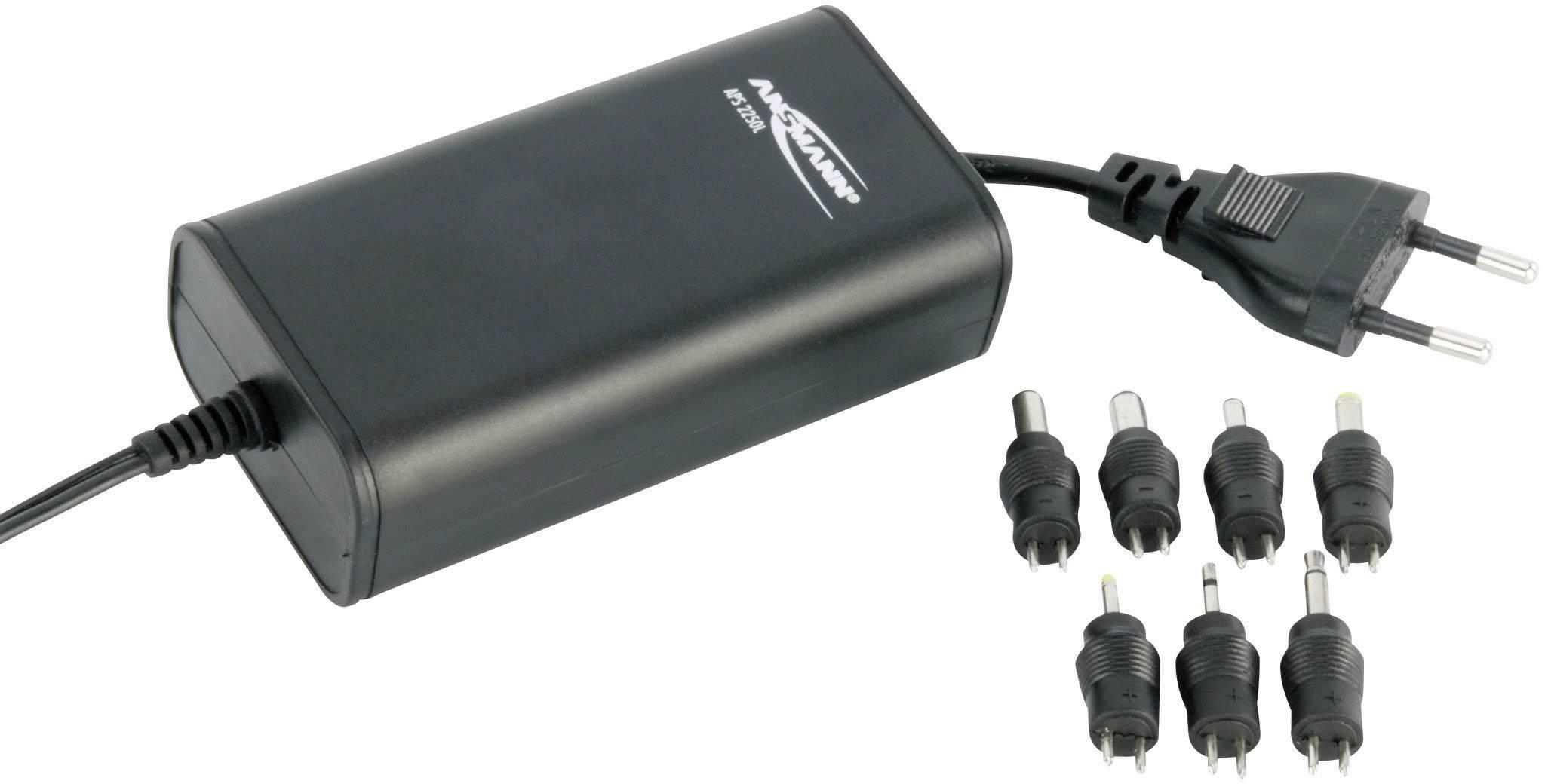 Univerzální síťový adaptér Ansmann APS2250L, 5 - 15 VDC, 27 W
