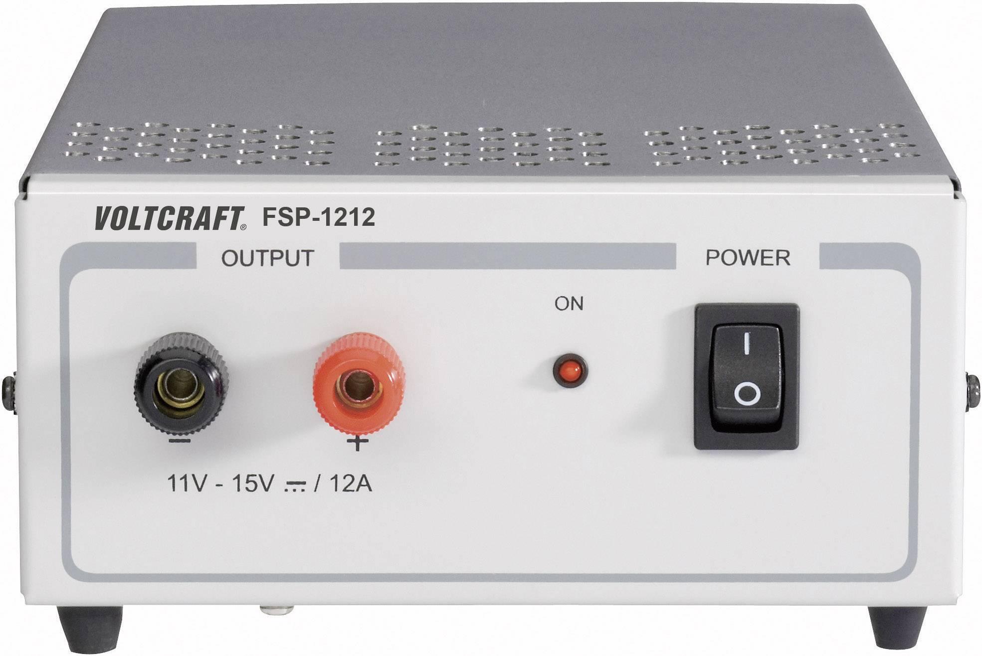 Laboratórny zdroj s pevným napätím VOLTCRAFT FSP 1212, 11 - 15 V/DC, 180 W, 12 A