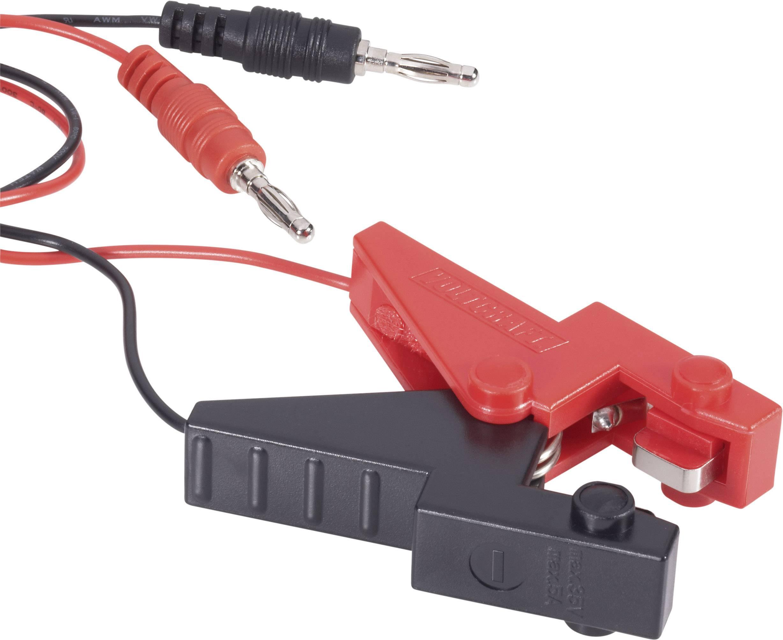 Nabíjací kábel VOLTCRAFT 512035, [2x banánková zástrčka - 1x ], 400 mm, 1.5 mm²