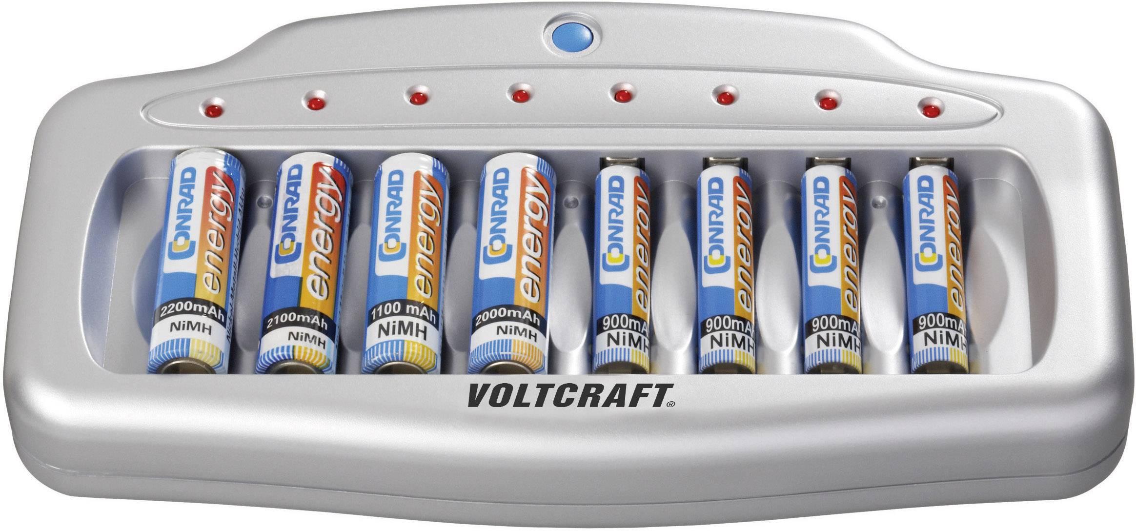 Mikroprocesorová nabíjačka Voltcraft UFC-8