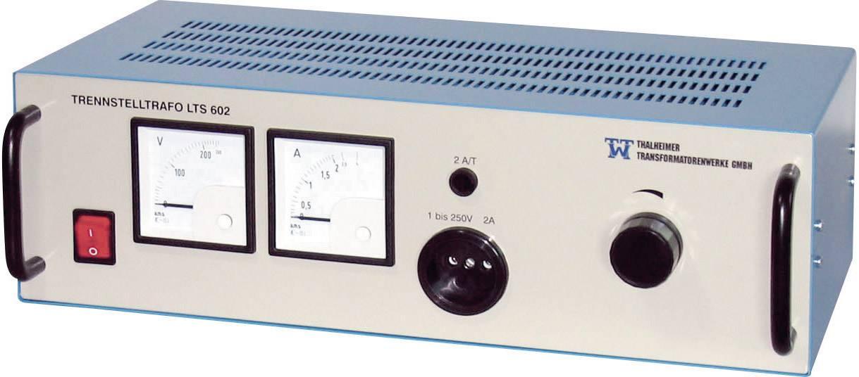 Laboratorní transformátor Thalheimer LTS 606, 1500 VA, 230 V/AC/2 - 250 V/AC