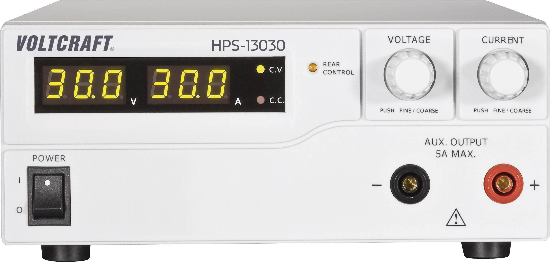 Spínaný laboratórny zdroj Voltcraft HPS-13030, 1 - 30 V, 0 - 30 A