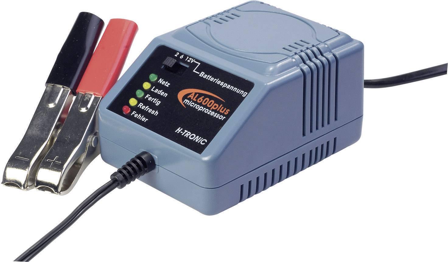 Nabíječka olověných akumulátorů H-Tronic AL600plus, 2/6/12 V, 0,6 A