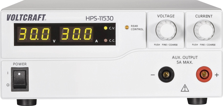 Spínaný laboratórny zdroj Voltcraft HPS-11530, 1 - 15 V, 0 - 30 A