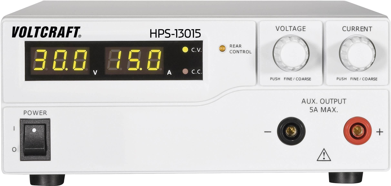 Spínaný laboratórny zdroj Voltcraft HPS-13015, 1 - 30 V, 0 - 15 A