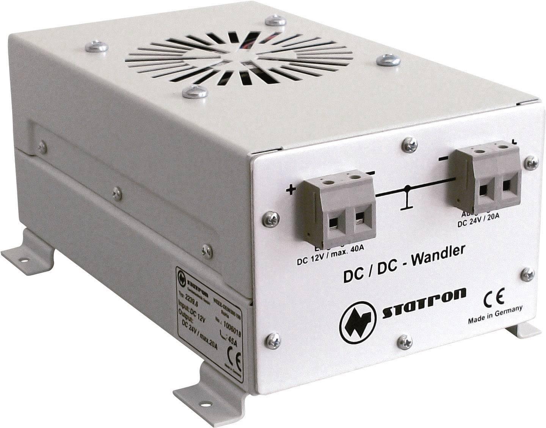 DC / DC menič napätia do auta Statron 2239.6 24 V/DC/20 A