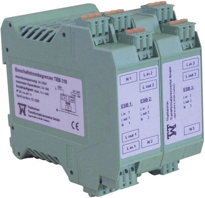 Omezovač náběhového proudu na DIN lištu Thalheimer, TEB 316, 16 A, 6,4 kW, třífázový
