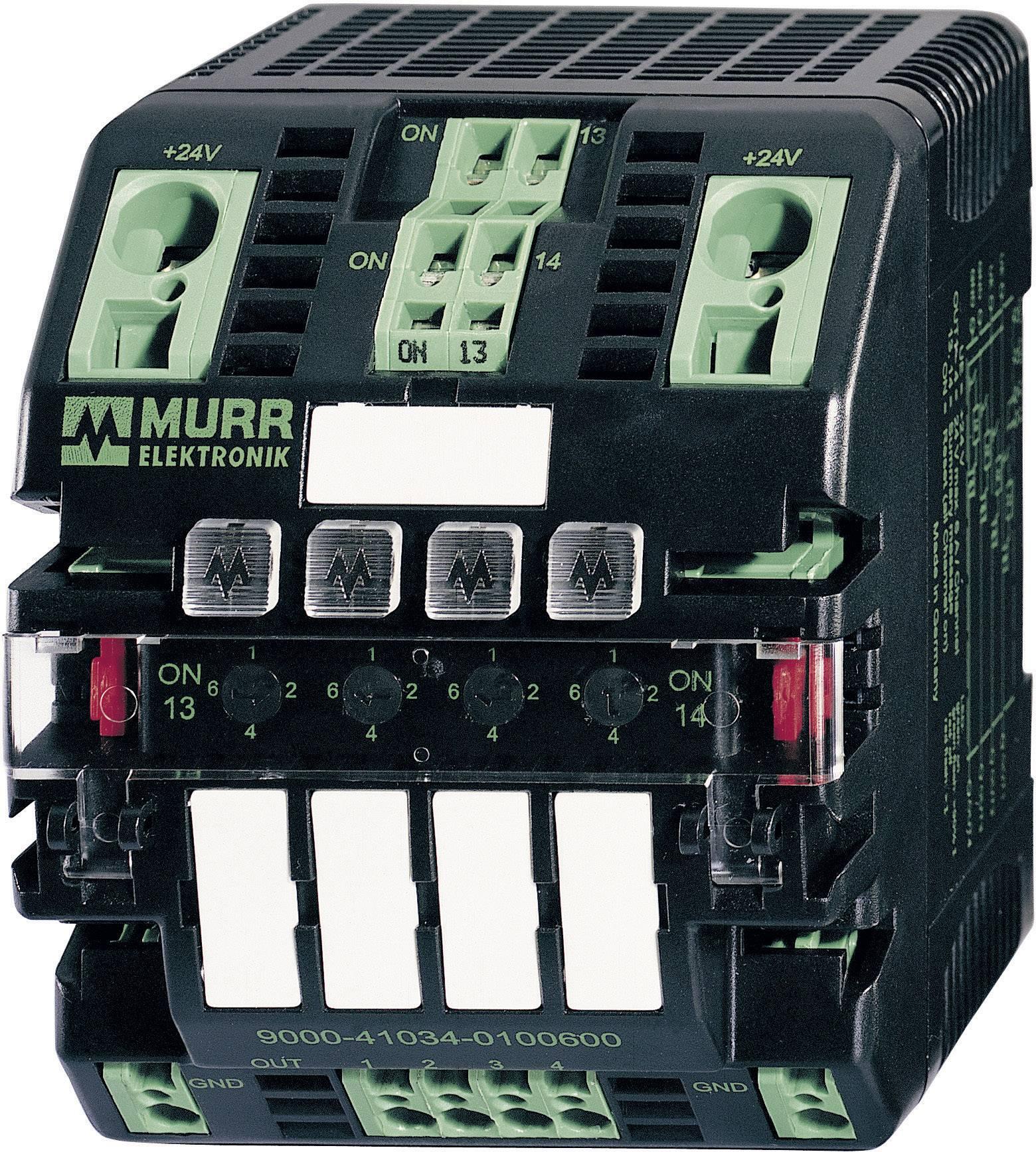 Regulátor zátěže Murr Elektronik Mico 4.6 na DIN lištu, 24 V/DC, max. 6 A