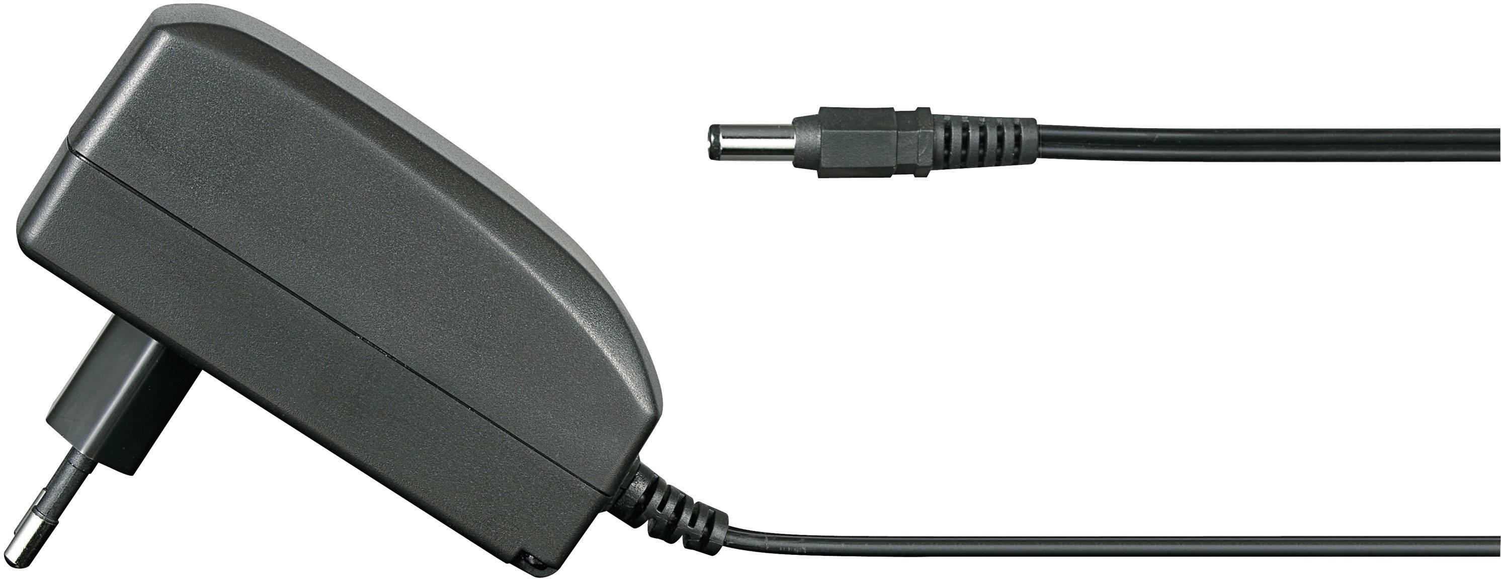 Zásuvkový adaptér so stálym napätím VOLTCRAFT FPPS 5-12W, 12 W, 2250 mA
