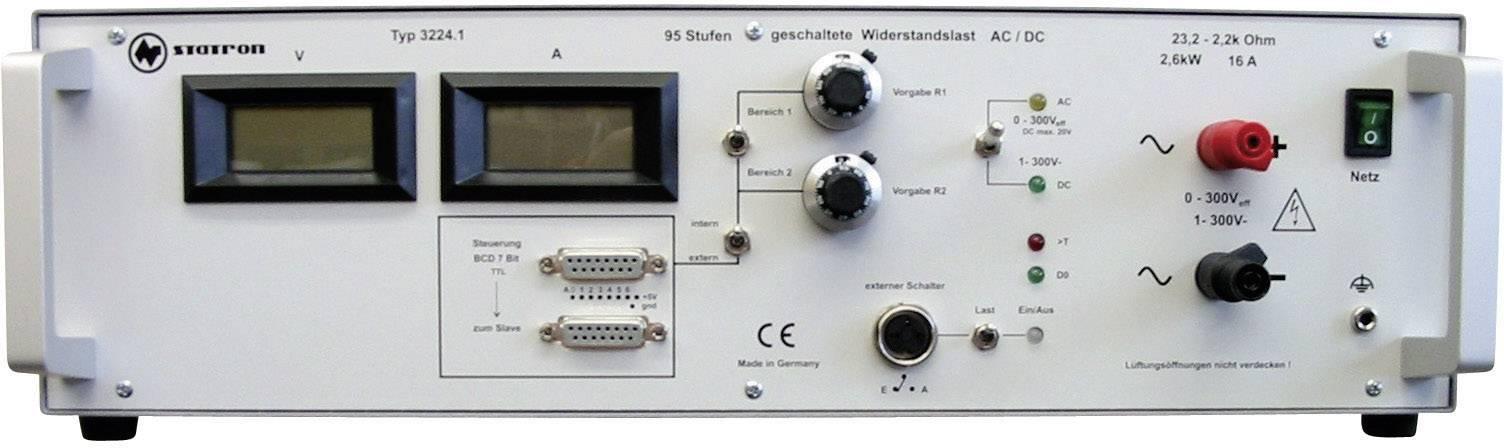 Elektronická záťaž Statron 3224.1, 1 - 300 V/DC / 13 A