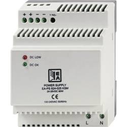 Sieťový zdroj na montážnu lištu (DIN lištu) EA Elektro-Automatik EA-PS 812-045 KSM, 1 x, 4.5 A, 60 W