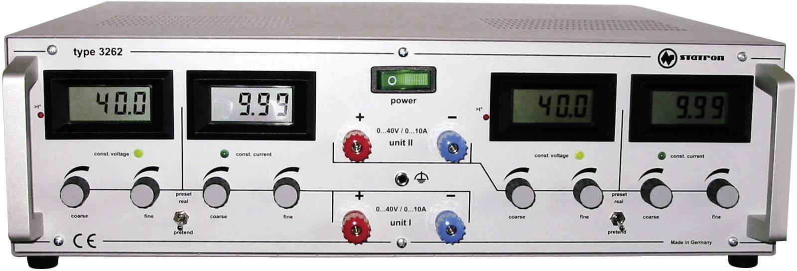 Lineárny laboratórny zdroj Straton 3262.1, 0 - 40 V, 0 - 10 A