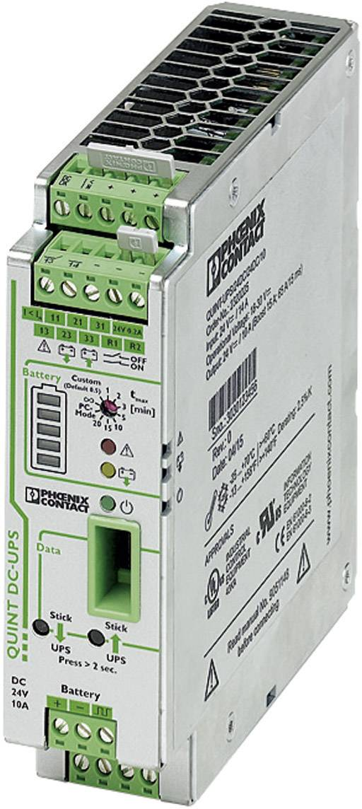 UPS do lišty Phoenix Contact QUINT-UPS/ 24DC/ 24DC/10 2320225