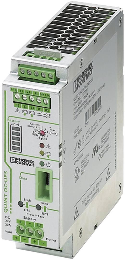 UPS do lišty Phoenix Contact QUINT-UPS/ 24DC/ 24DC/20 2320238