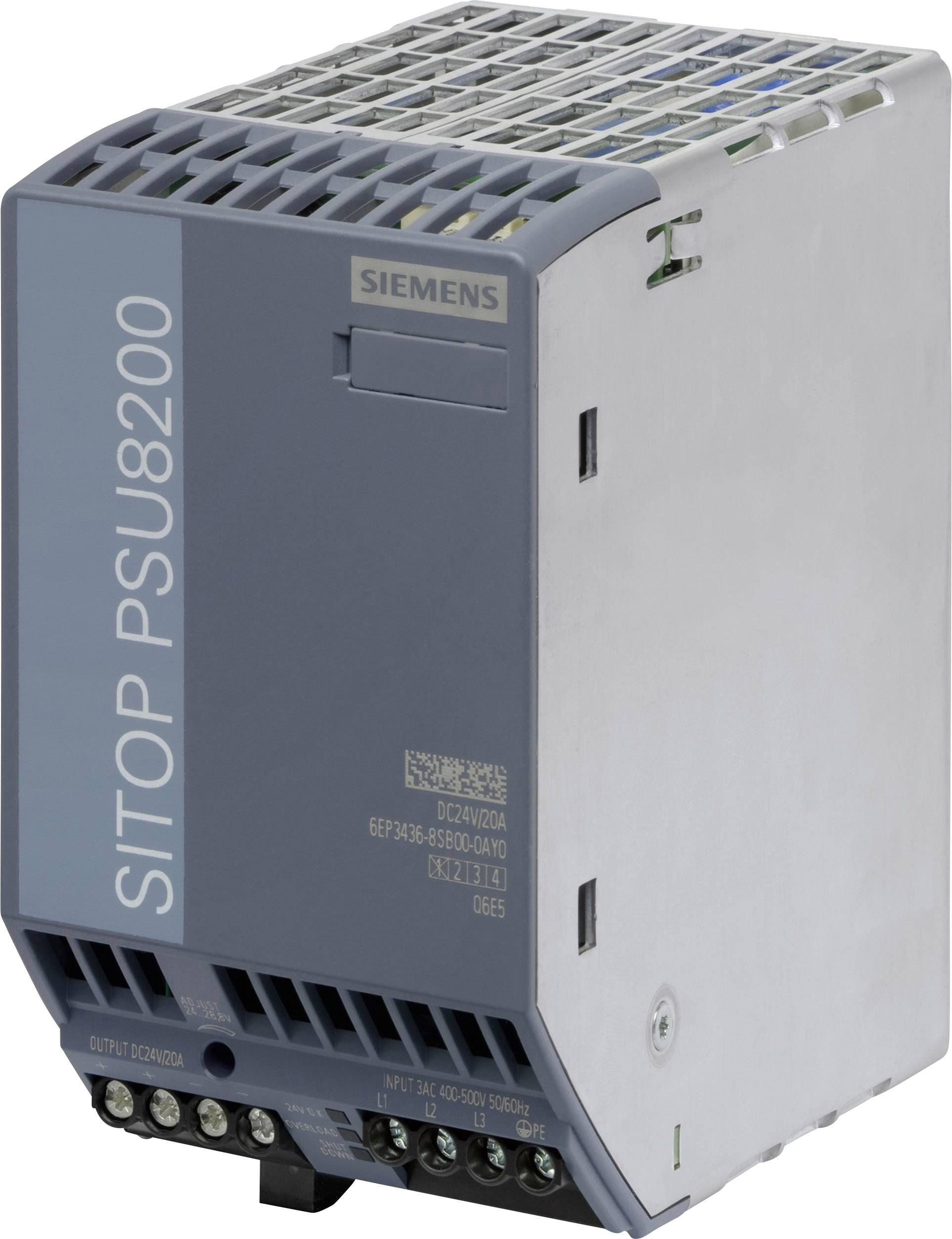 Síťový zdroj na DIN lištu Siemens SITOP PSU300M 24V/40A, 1 x, 24 V/DC, 40 A, 960 W