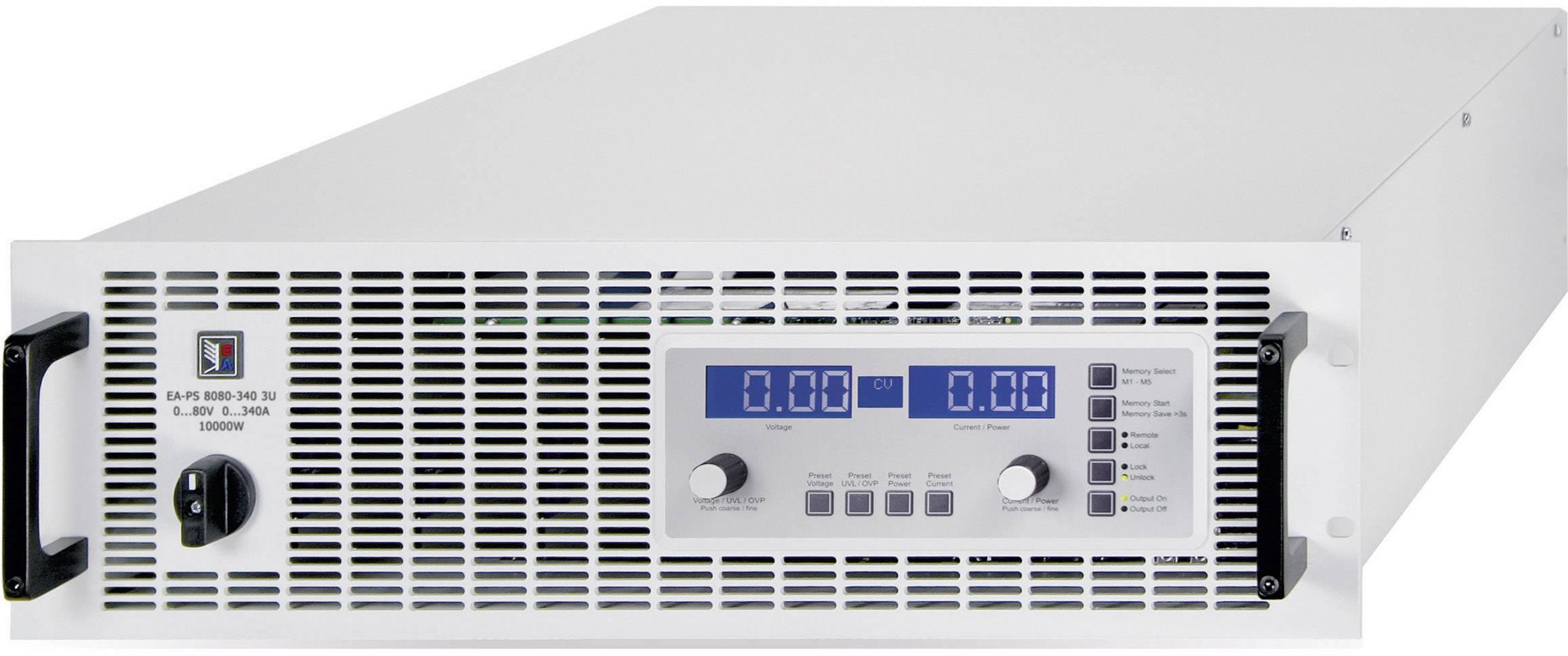 """Programovatelný laboratorní zdroj do 19"""" EA EA-PS 8500-90, 3U, 500 V/DC, 90 A, 15 kW"""