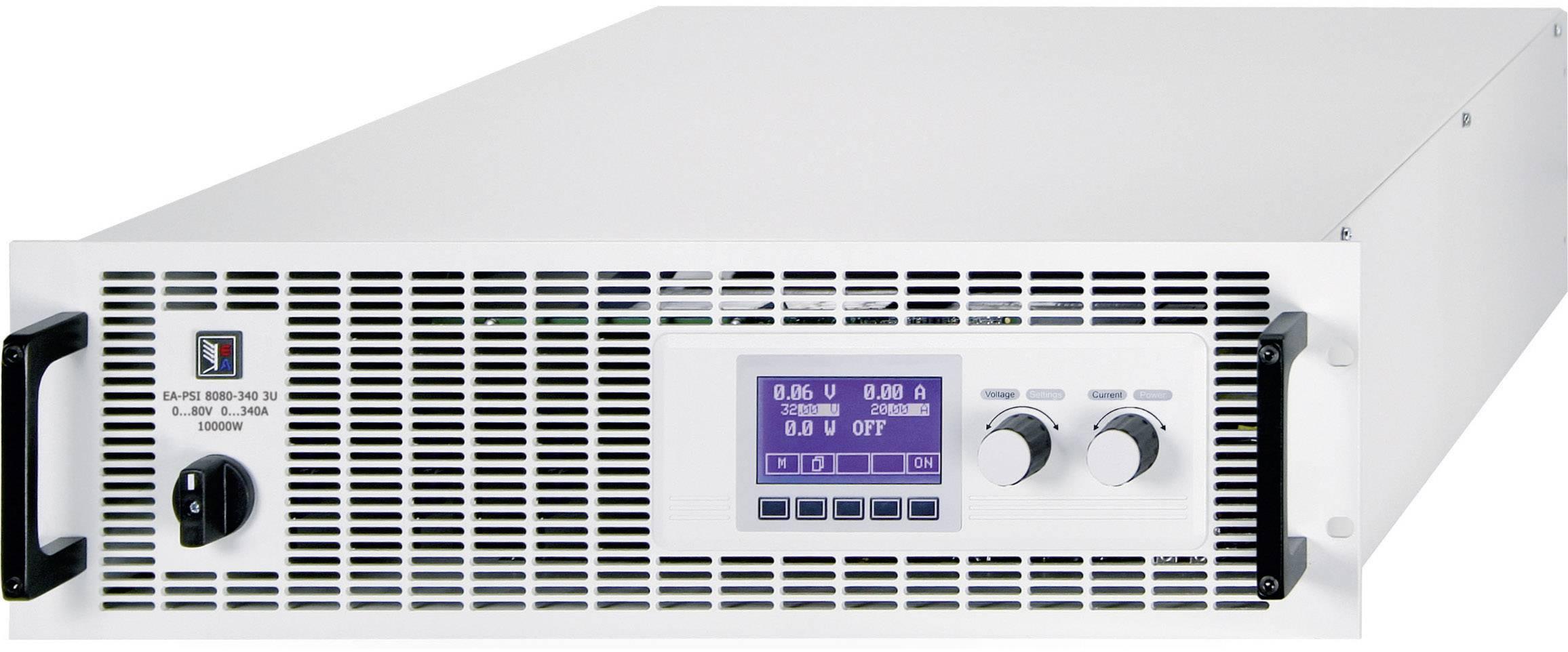 """19"""" laboratórny zdroj s nastaviteľným napätím EA Elektro-Automatik EA-PSI 8080-510 3U, 0 - 80 V/DC, 0 - 510 A"""