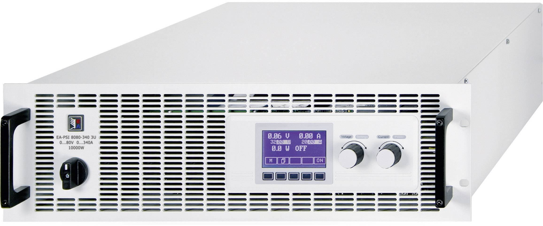 """19"""" laboratórny zdroj s nastaviteľným napätím EA Elektro-Automatik EA-PSI 8160-170 3U, 0 - 160 V/DC, 0 - 170 A"""
