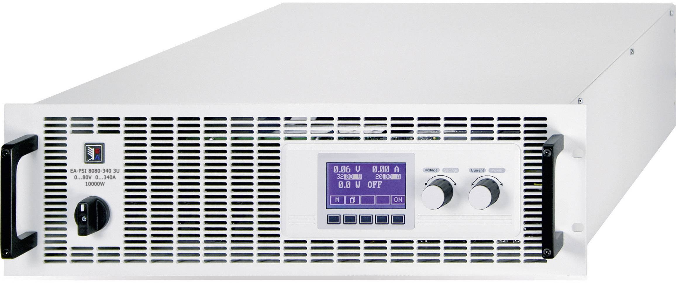 """19"""" laboratórny zdroj s nastaviteľným napätím EA Elektro-Automatik EA-PSI 8080-340 3U, 0 - 80 V/DC, 0 - 340 A"""