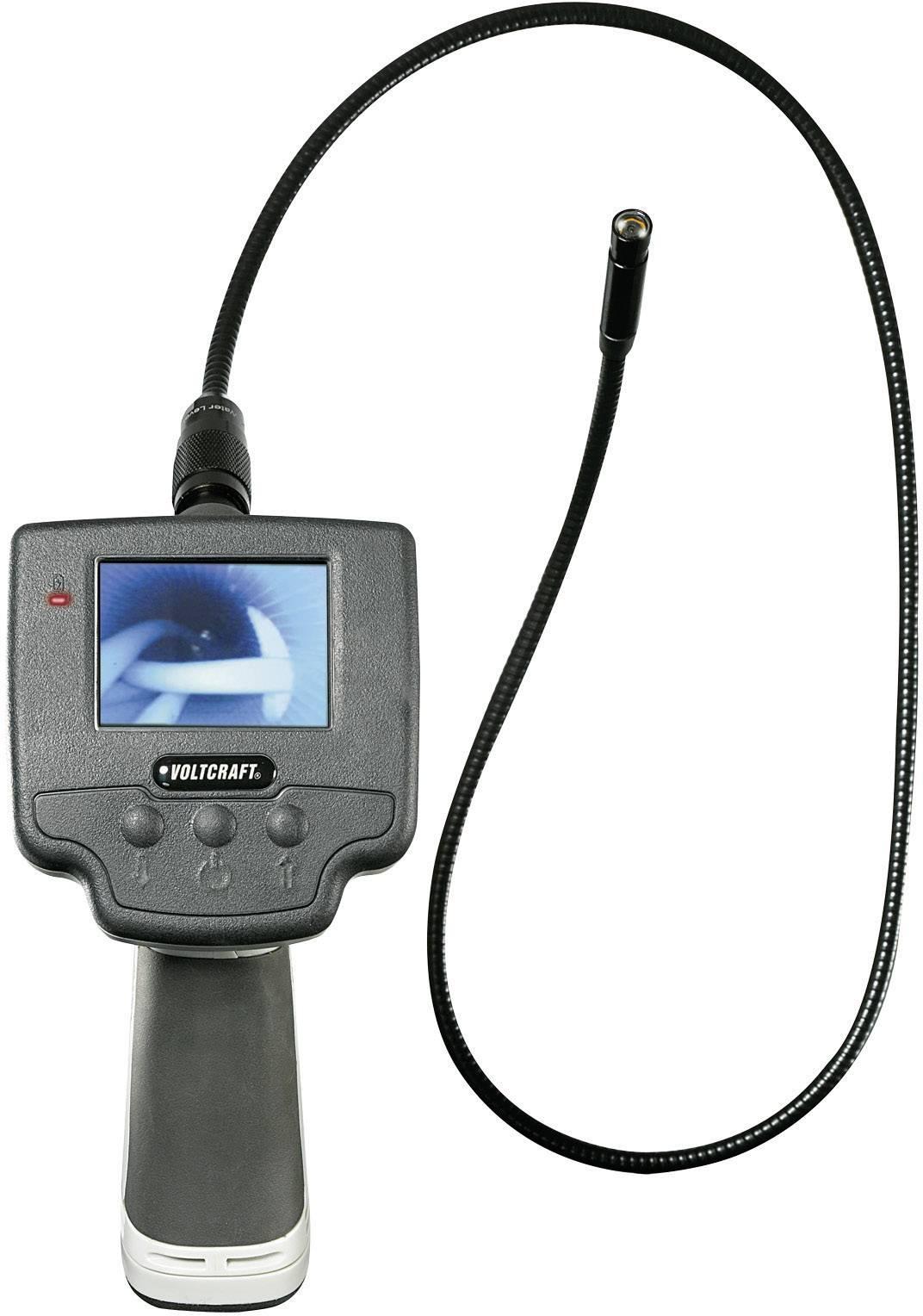 Vodotesný endoskop VOLTCRAFT BS-100XIP, Ø sondy 9.8 mm, dĺžka sondy 88 cm, IP67