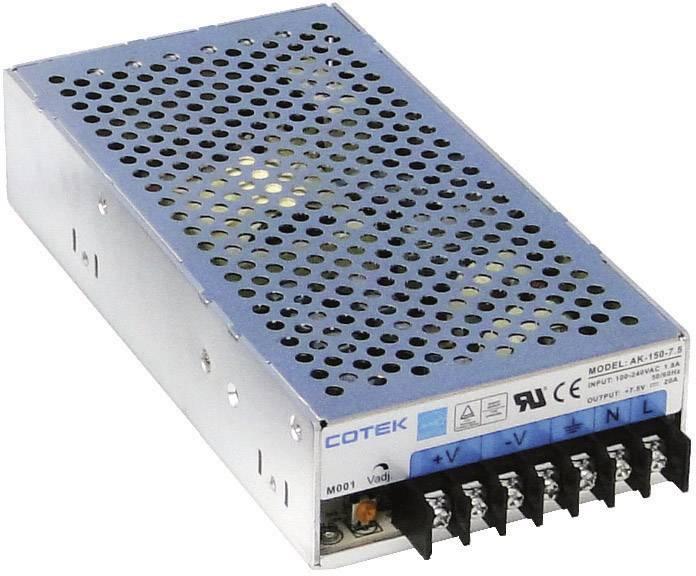Zabudovateľný zdroj AC/DC Cotek AK 150-48, 52.8 V/DC, 3.2 A, 150 W