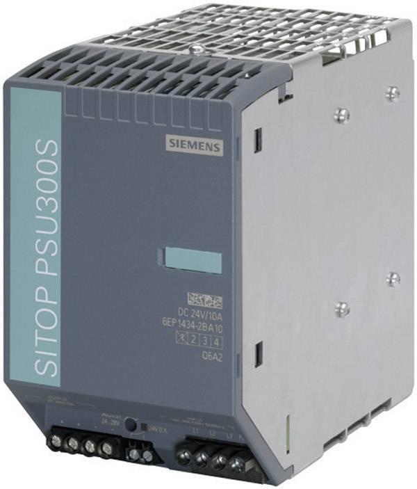 Sieťový zdroj na montážnu lištu (DIN lištu) Siemens SITOP PSU300S 24 V/40 A, 1 x, 24 V/DC, 40 A, 960 W