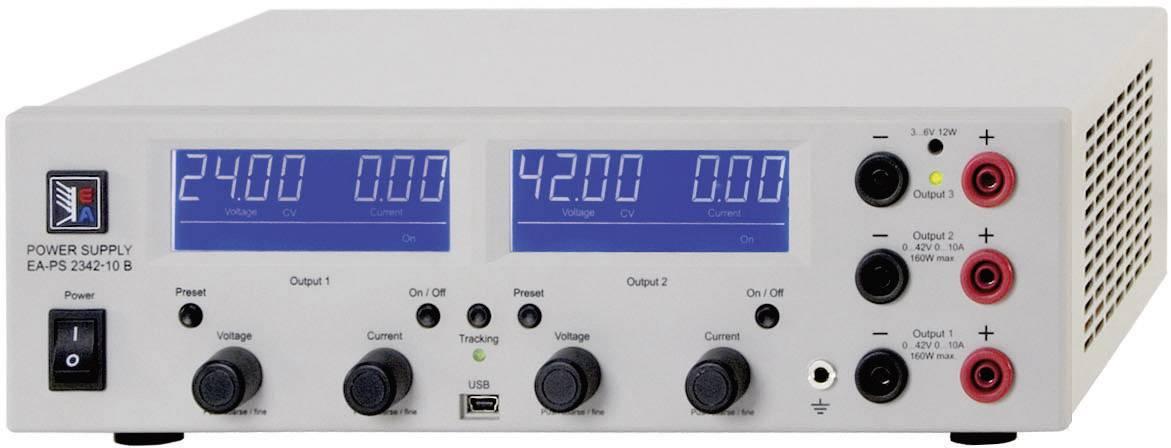 Laboratórny zdroj s nastaviteľným napätím EA Elektro-Automatik PS 2384-03B Triple, 0 - 84 V/DC, 0 - 3 A, 212 W