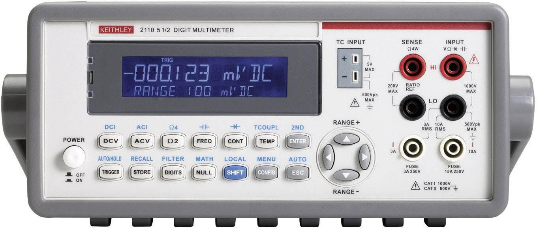 Stolní multimetr Keithley 2110-240
