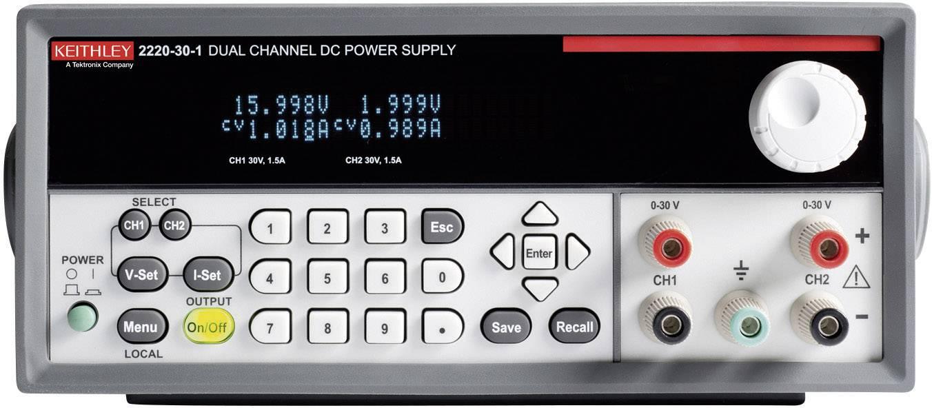 Laboratorní síťový zdroj Keithley 2200-30-5, 0 - 30 V/DC, 0 - 5 A