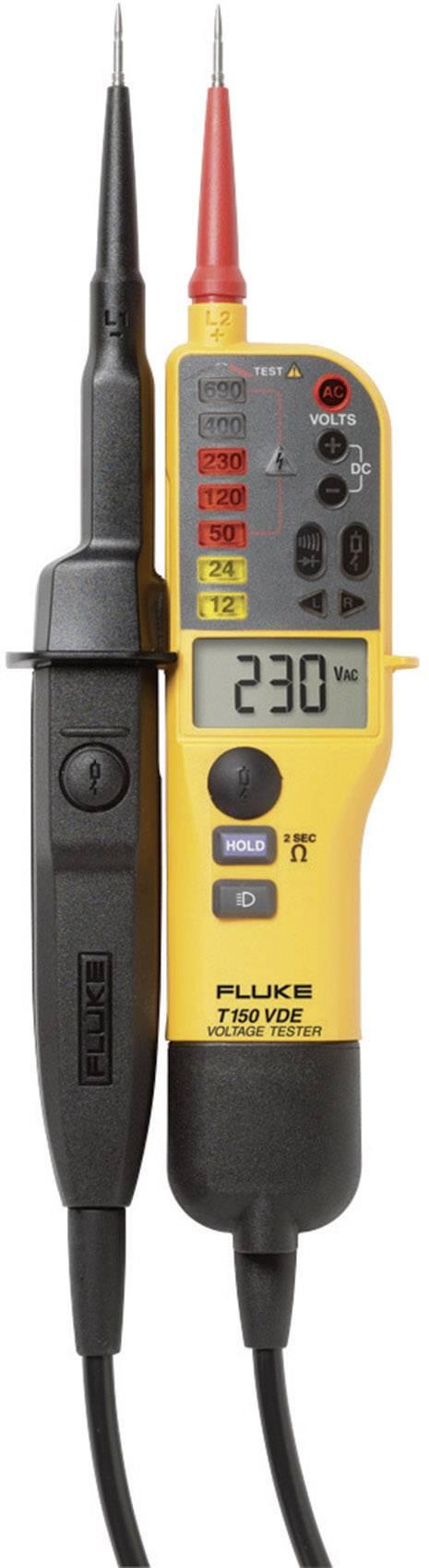 Dvoupólová zkoušečka napětí Fluke T150 VDE, 4093109