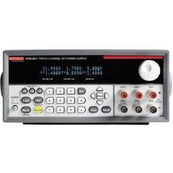 Laboratorní zdroj s nastavitelným napětím Keithley 0 - 30 V/DC, 0 - 1.5 A, 120 W, Počet výstupů: 3 x
