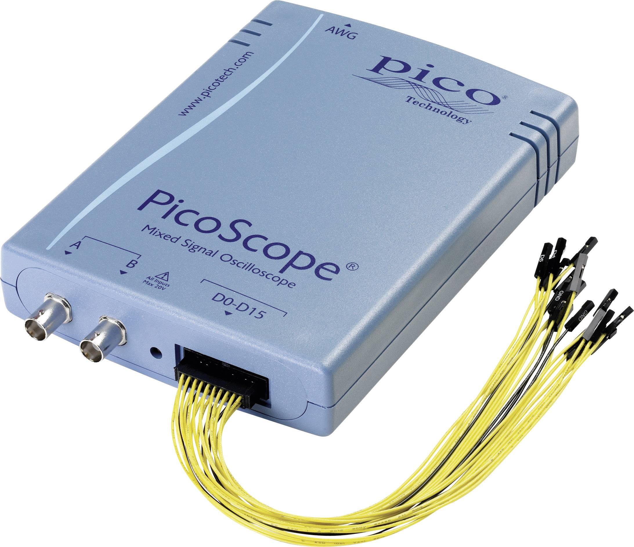 USB, PC osciloskop pico PP860, 100 MHz