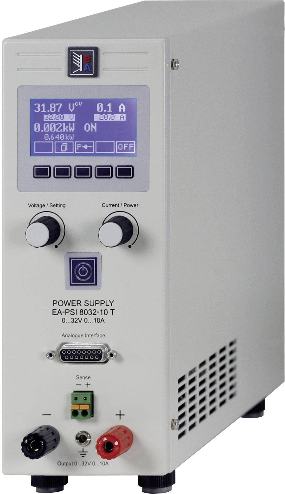 Laboratorní síťový zdroj EA-PSI 8032-20 T, 0 - 32 V/DC, 20 - 20 A, 640 W