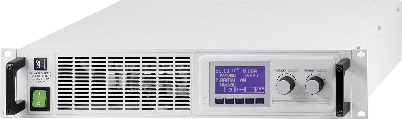 Regulovatelný laboratorní síťový zdroj EA-PSI 8080-120 2U, 0 - 80 V/DC, 0 - 120 A, 3000 W