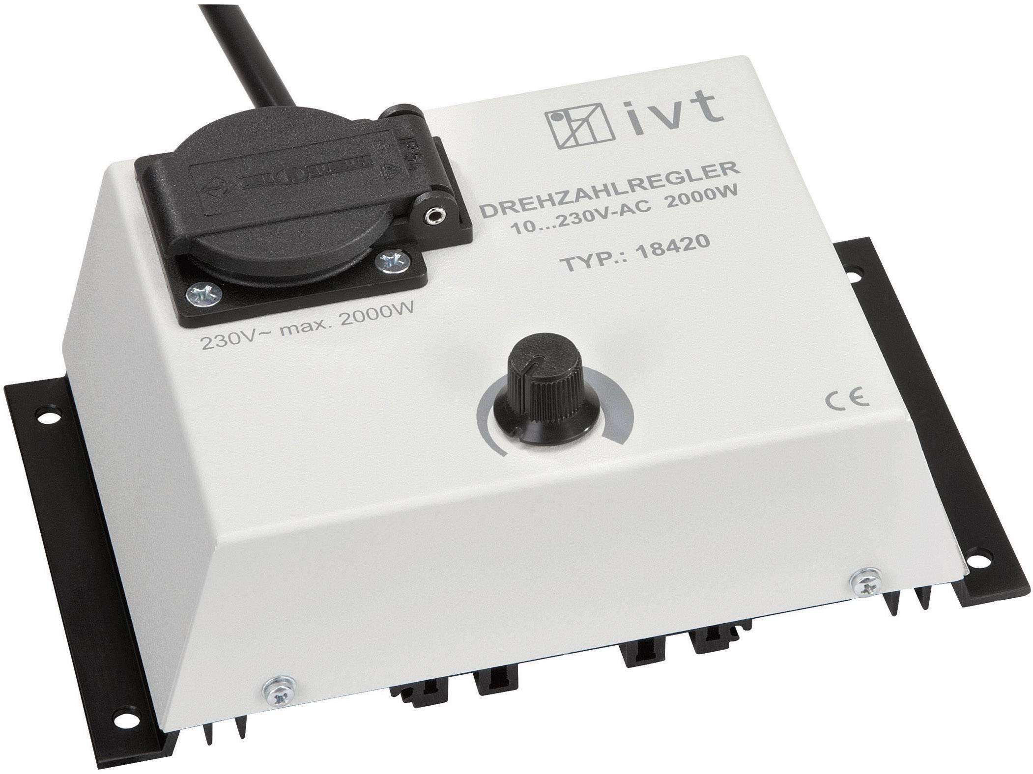 Regulátor napětí IVT DR-2000, 700100, 2000 W, 10 - 230 V/AC