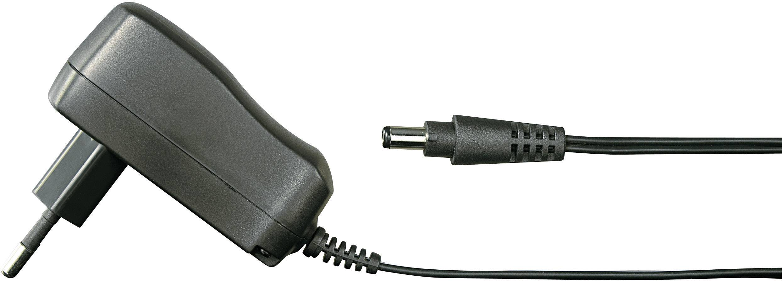Zásuvkový adaptér so stálym napätím VOLTCRAFT FPPS 9-6W, 6 W, 660 mA, 1,8 m