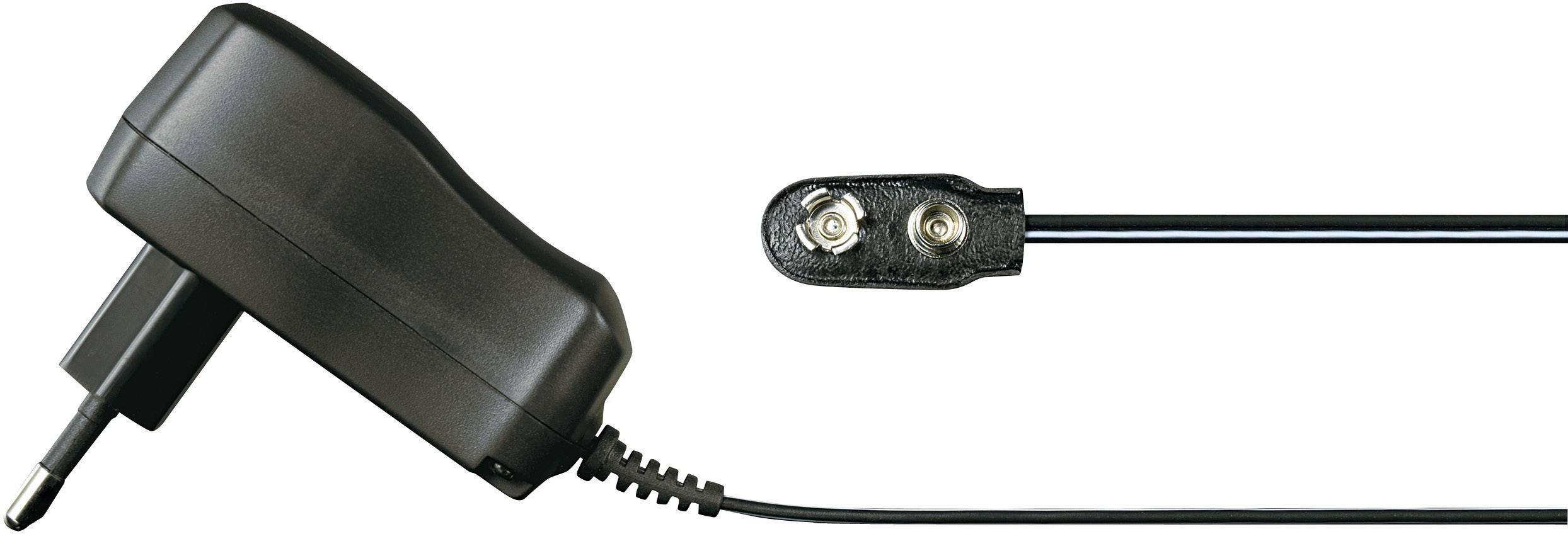 Síťový adaptér s klipem Voltcraft FPPS 9-3.6W-CL, 9 V /DC, 3.6 W