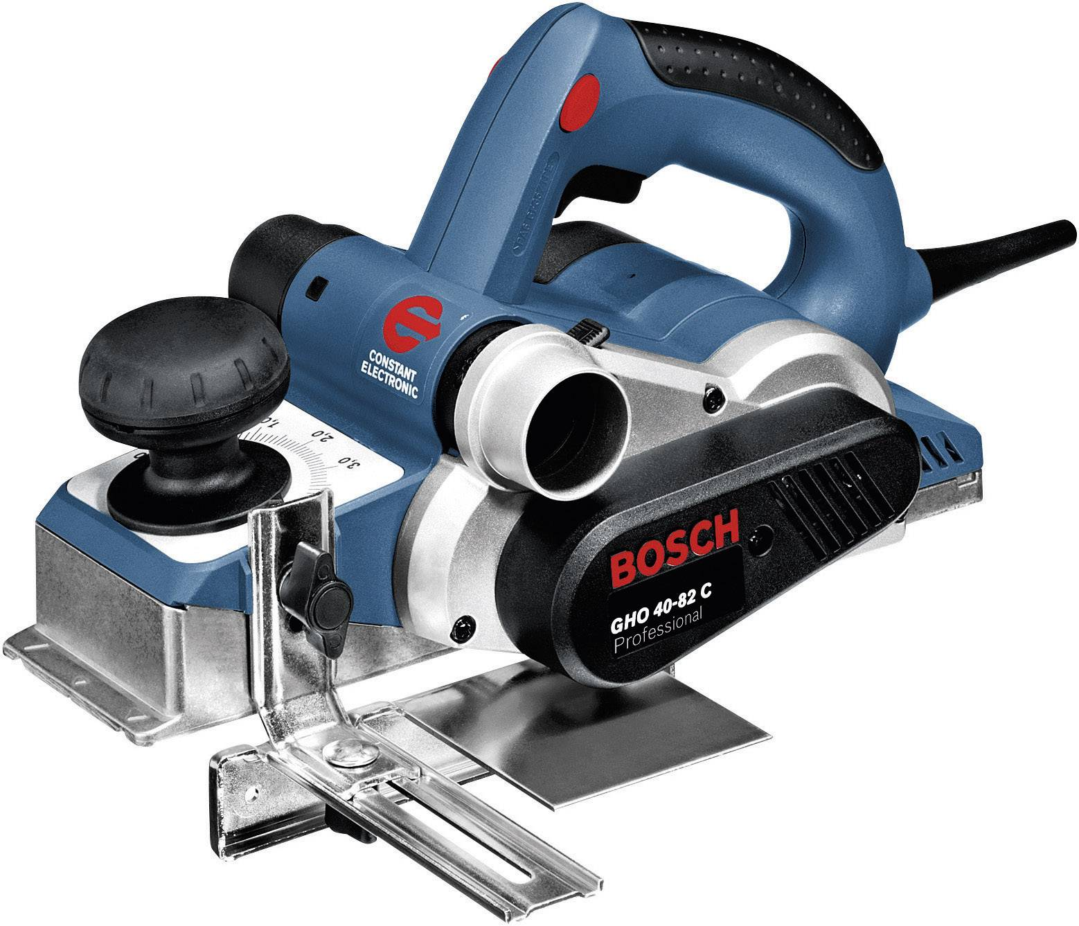 Hoblík Bosch GHO 40-82 C, drážkovací hĺbkový doraz, prídavný nôž 060159A760