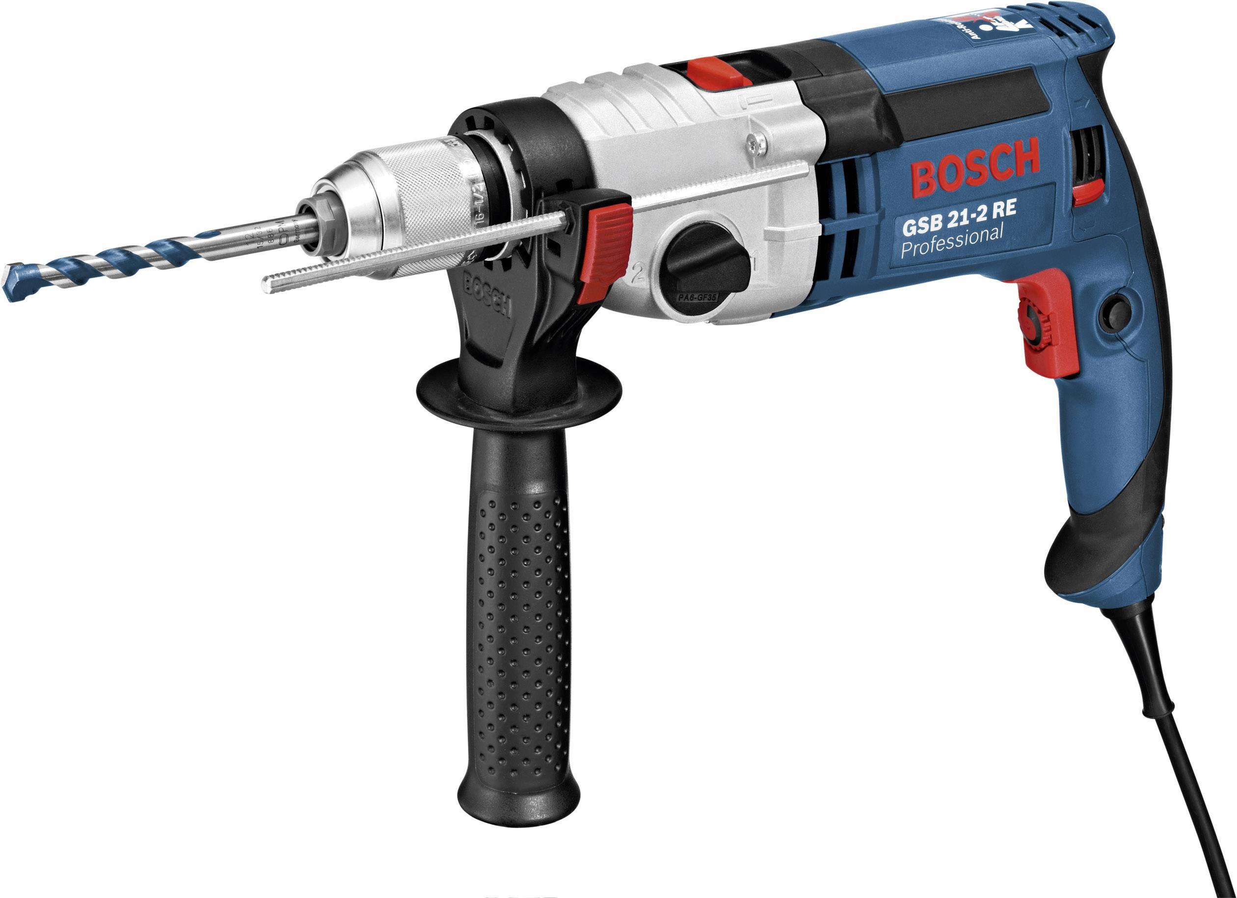 Príklepová vŕtačka Bosch GSB 21-2 RE, L-Boxx 060119C503