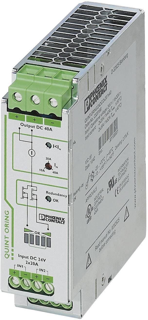 Redundantní modul Phoenix Contact QUINT-ORING/24DC/2x20/1x40A