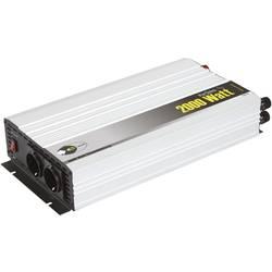 Trapézový menič napätia DC / AC e-ast HPL 2000-12, 2000 W, 12 V/DC/230 V/AC, 2000 W