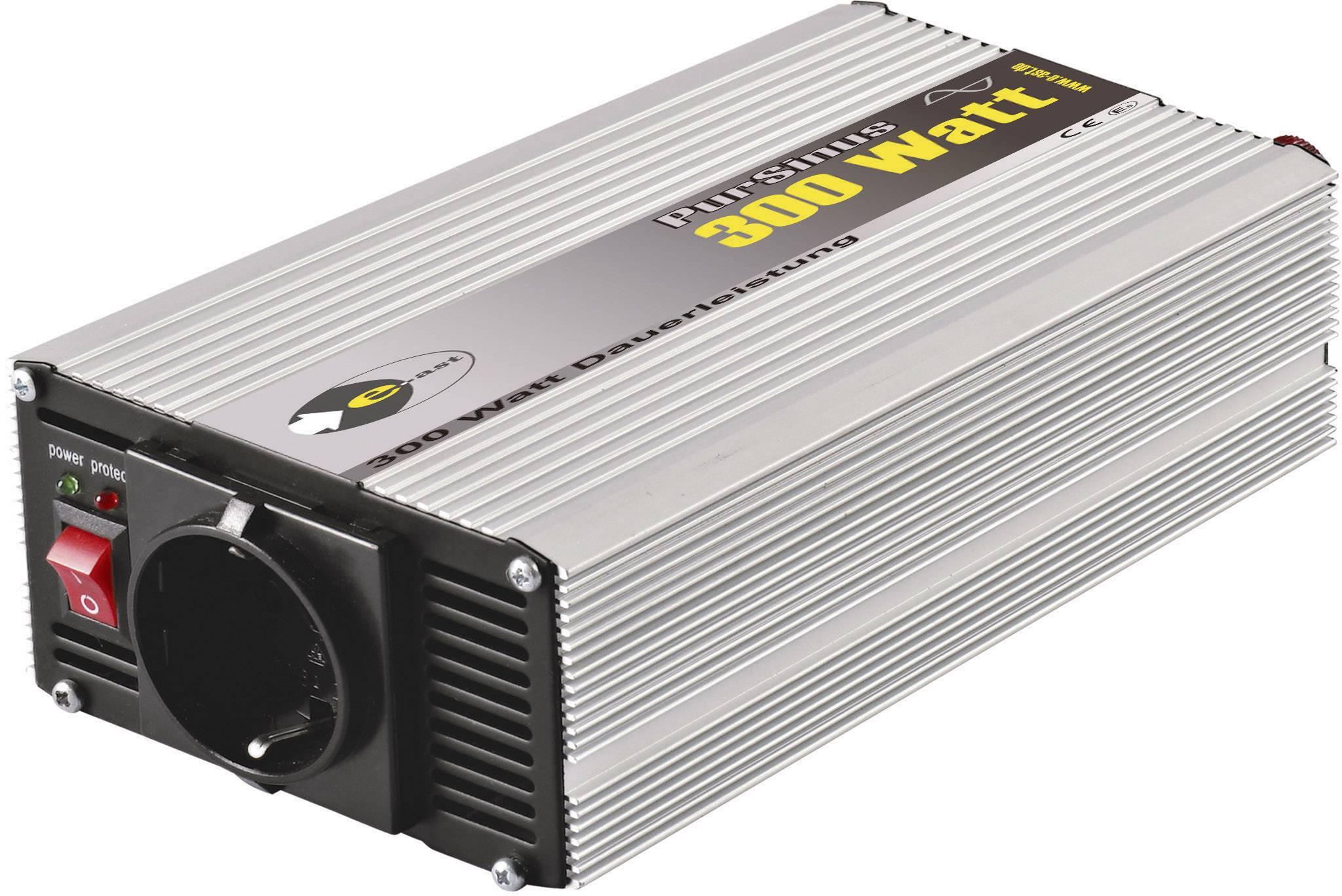 Menič napätia DC / AC e-ast CLS 300-12, 300 W, 12 V/DC/230 V/AC, 300 W