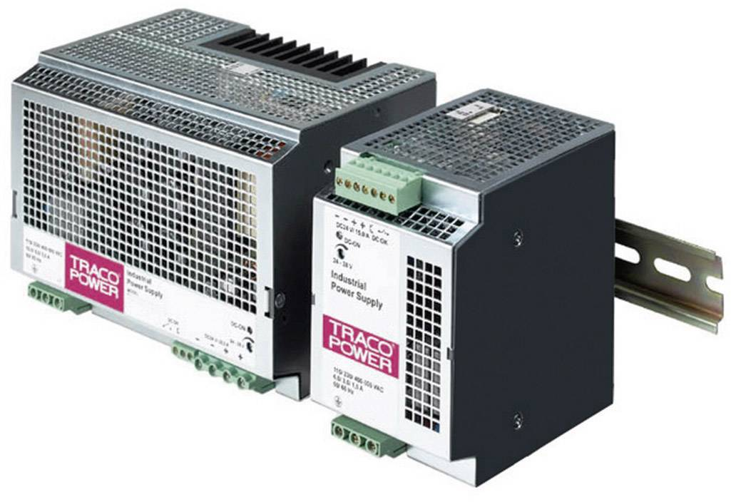 Zdroj na DIN lištu TracoPower TSP 960-124-3PAC400, 24 V/DC, 40 A