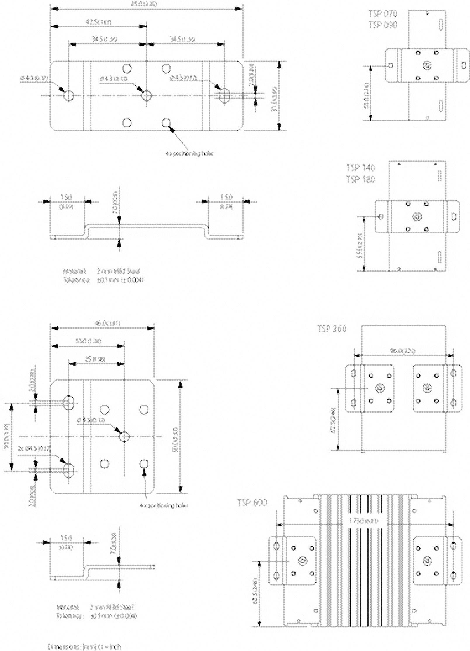 Nástěnný držák pro napájecí zdroje TracoPower TSP-WMK03