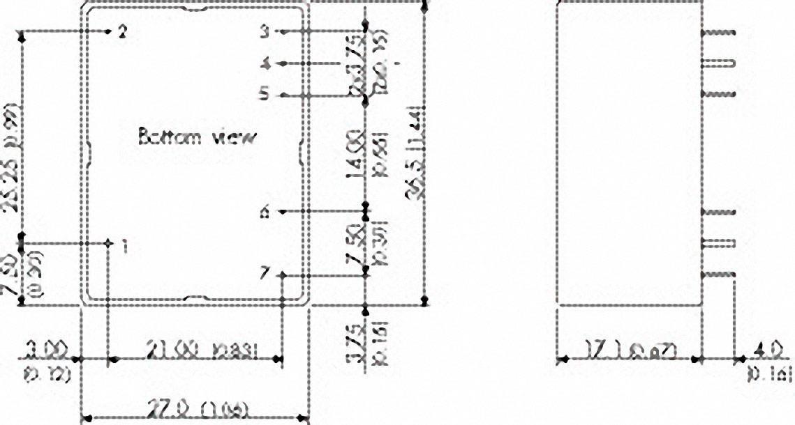 Vestavný napájecí zdroj TracoPower TMPM 04105, 4 W, 5 V/DC