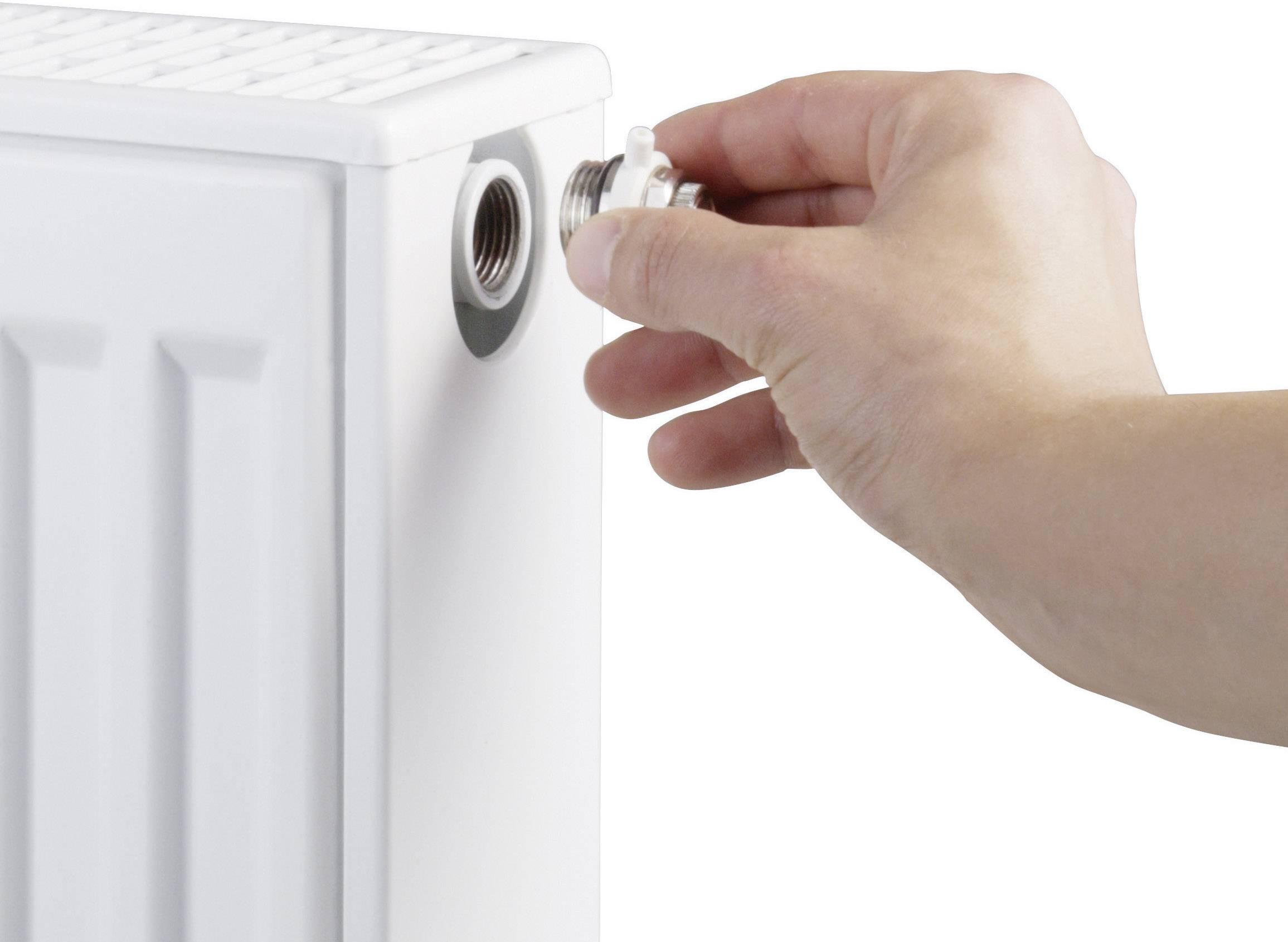 Plastový odvzdušňovací ventil do radiátoru