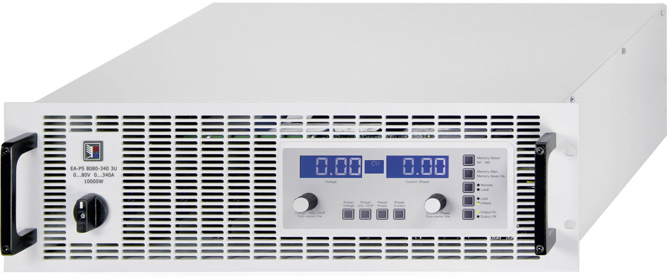 """Laboratorní zdroj 19"""", nastavitelný EA Elektro-Automatik EA-PS 8040-170 3U, 0 - 40 V/DC, 0 - 170 A"""