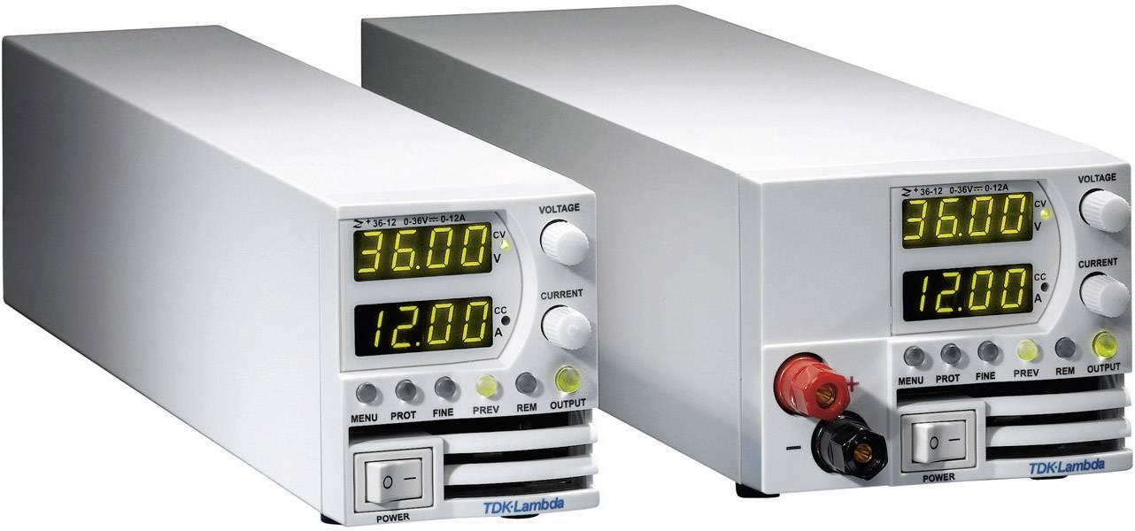 Programovatelný laboratorní síťový zdroj TDK-Lambda Z-60-3.5/L, 0- 60 V/DC, 0 - 3,5 A, 210 W