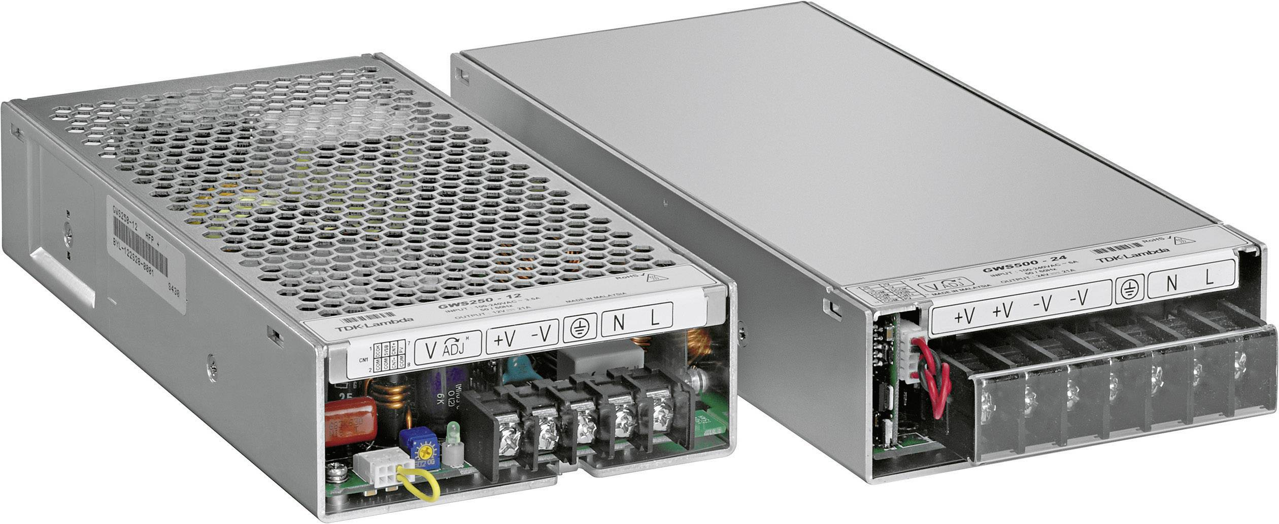 Zabudovateľný zdroj AC/DC TDK-Lambda GWS-250-24, 28.8 V/DC, 10.5 A, 250 W